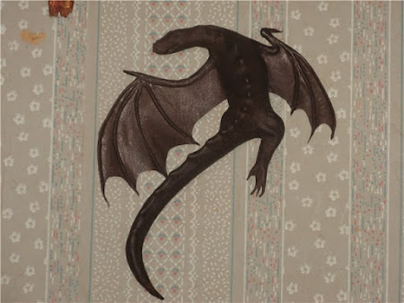 Сумка дракон своими руками