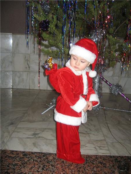 Новогодний костюм нового года для мальчика своими
