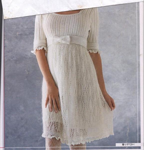 Схема вязания платья для беременной - теперь можно скачать, Быстрая загрузк
