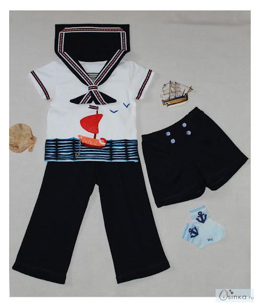 Костюм морячки для девочки выкройки