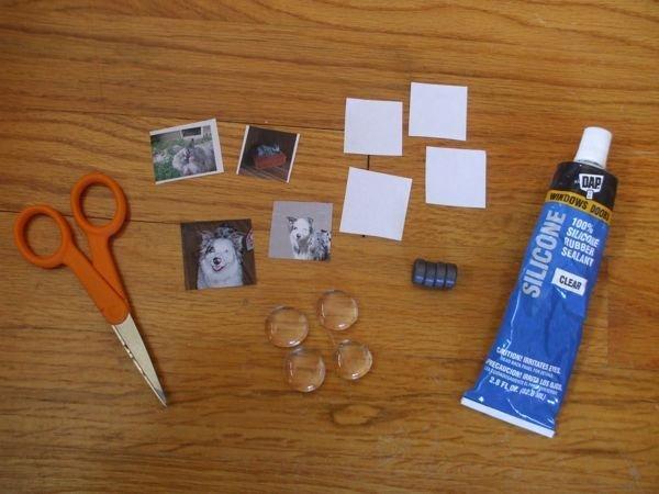 Как сделать магниты с фото своими руками