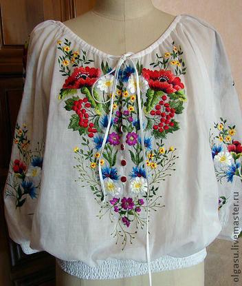 Вышивка блузы 49