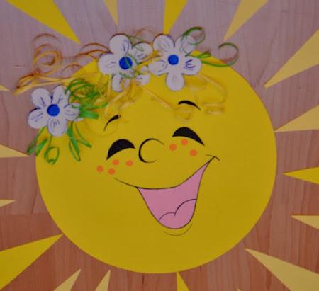 Солнышко как сделать
