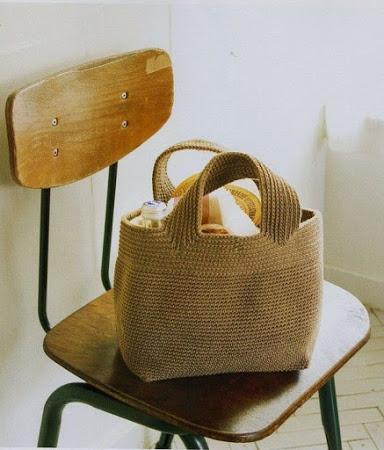 Вязаные сумки (коллекция).
