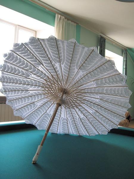 钩针:伞 - maomao - 我随心动