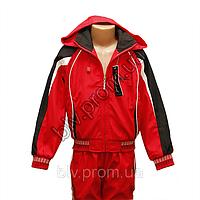 Спортивный костюм плащевка на девочек подростков FH9114P - Оптовый