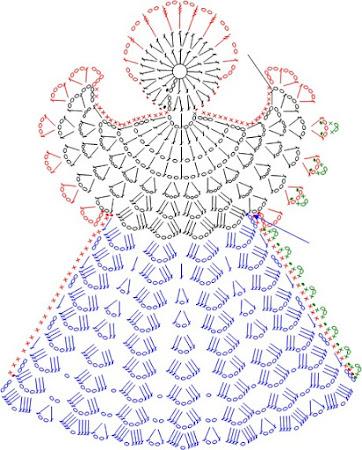 Вязание крючком ангелочков схемы мастер класс