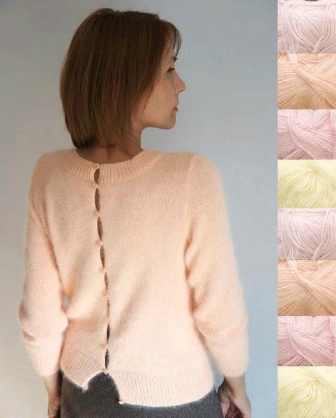 Вязание кофт из ангорки