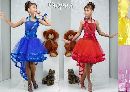 Как сшить детское платье для спортивно бальных танцев