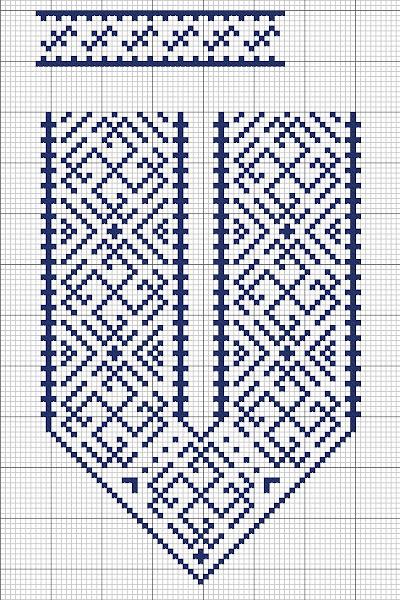 Вышивка крестом на мужской рубашке схемы вышивок
