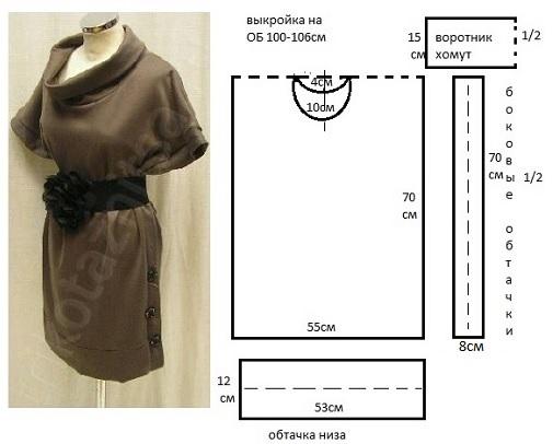 Сшить блузку своими руками без выкройки быстро