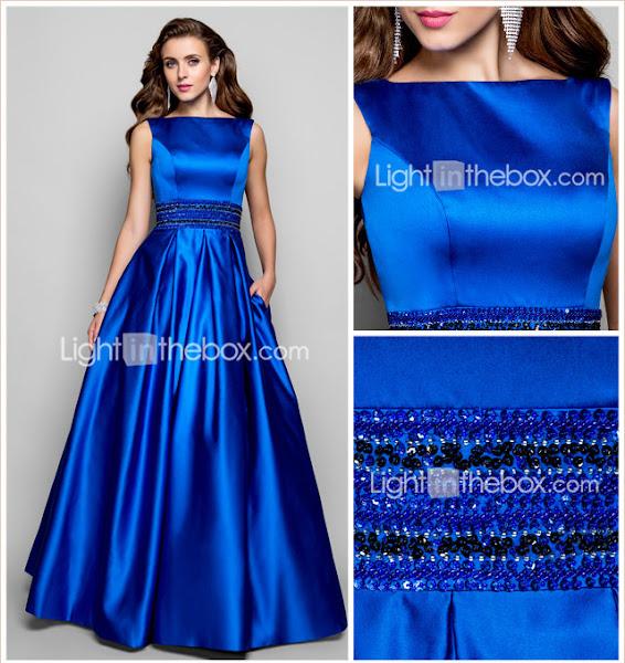Как сшить атласное платье в пол своими руками