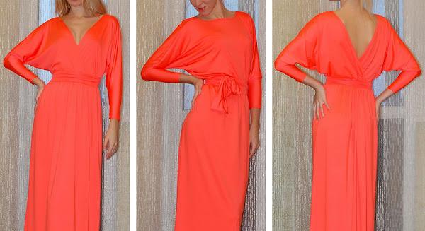 Платье в пол своими руками просто