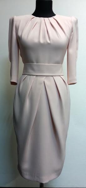 Трикотажное платья своими руками