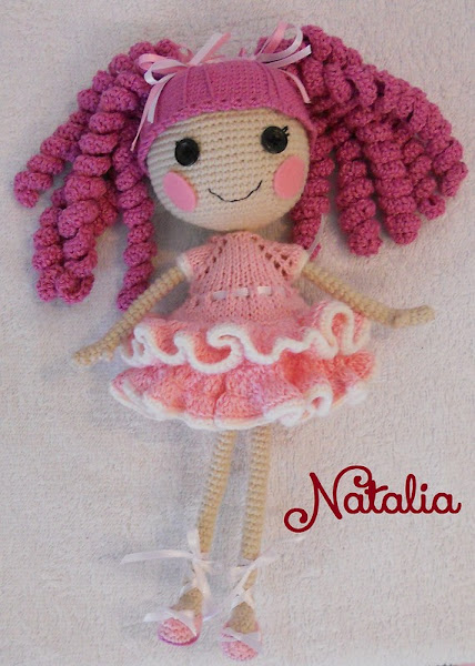Кукла крючком лалалупси мастер класс