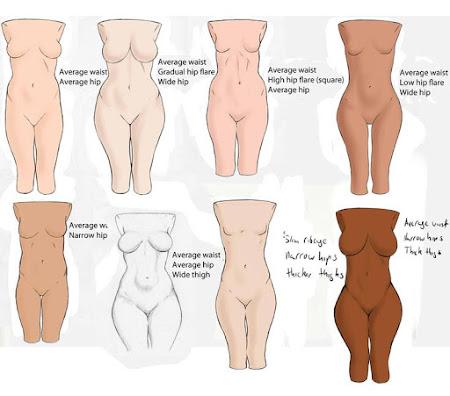 Как сделать груди и бедра