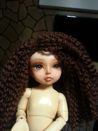 Всевозможные варианты для волос кукол