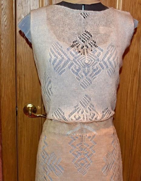 棒针连衣裙(118) - 柳芯飘雪 - 柳芯飘雪的博客