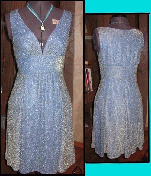Переделка платья с фото