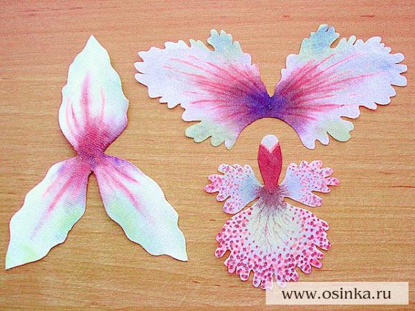 Как сделать орхидея своими руками