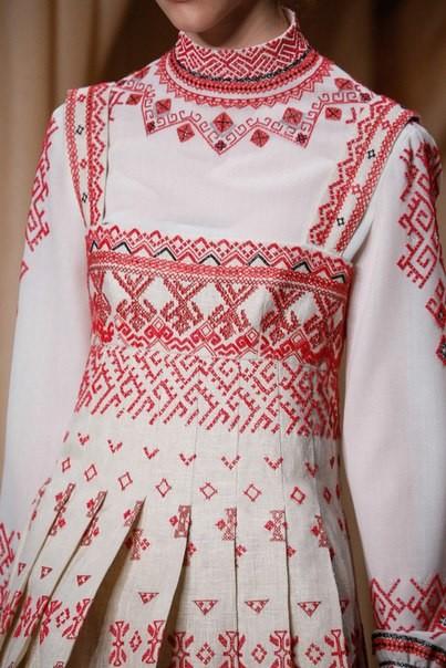 Вышивка платья и сарафан