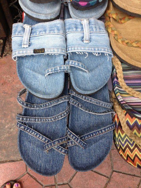 Поделки из джинса с