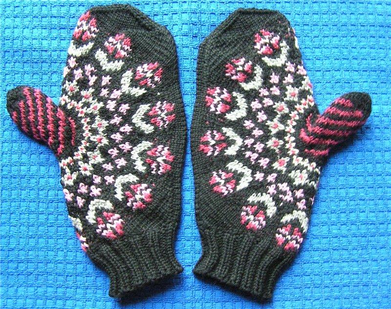 从手指开始针织的手套 - maomao - 我随心动