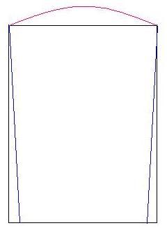 Как скроить махровый мужской халат