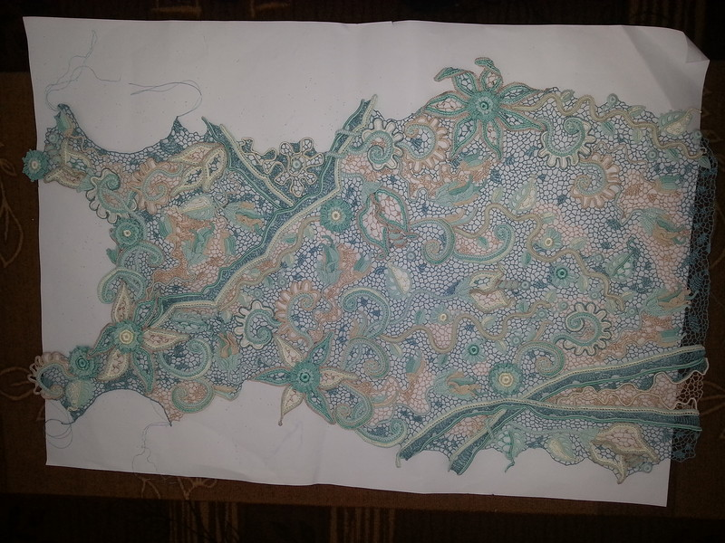 外网爱尔兰拼花衣(578) - 柳芯飘雪 - 柳芯飘雪的博客