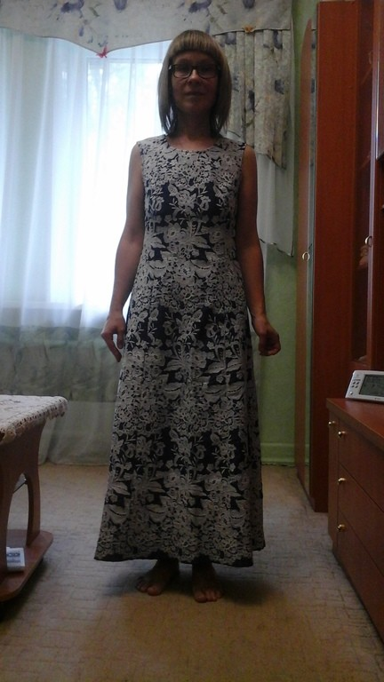 Сошьем самый счастливый наряд из тканей от Елены-05
