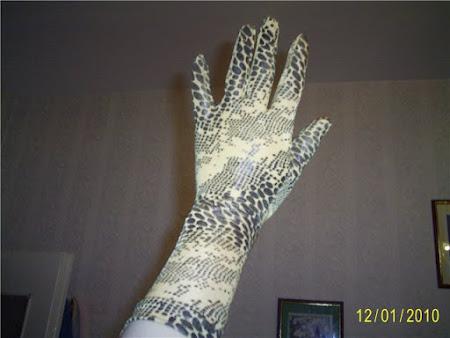 Перчатки для танцевального костюма (латина)