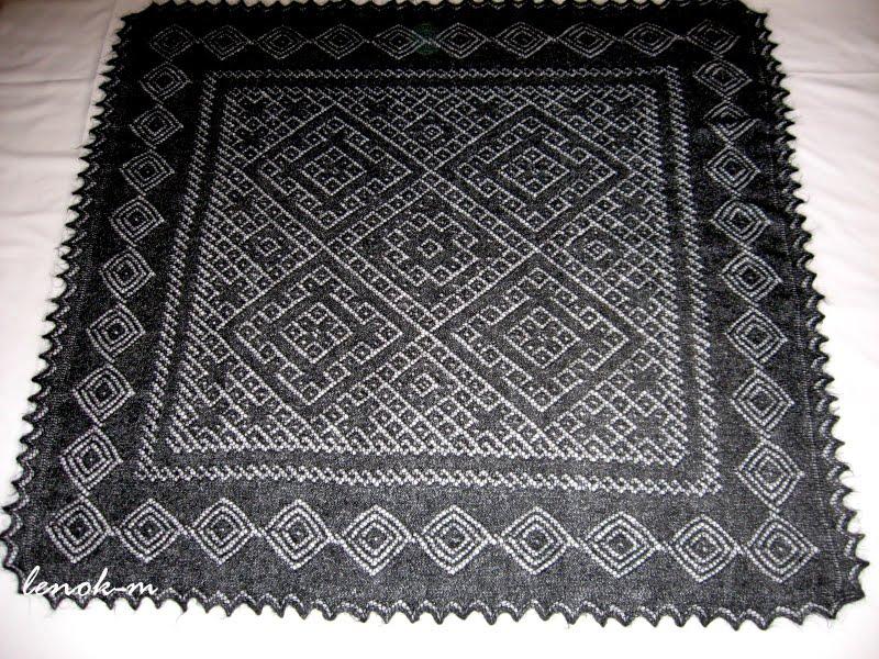 Оренбургский платок! Часть 2