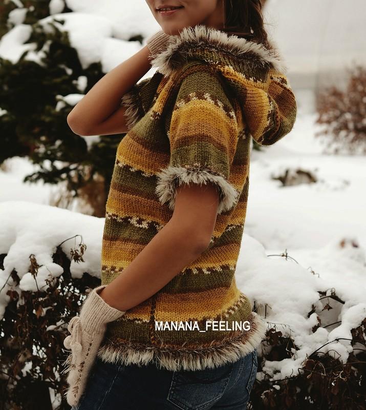 Стильное ручное вязание Manana_Feeling (Филин)