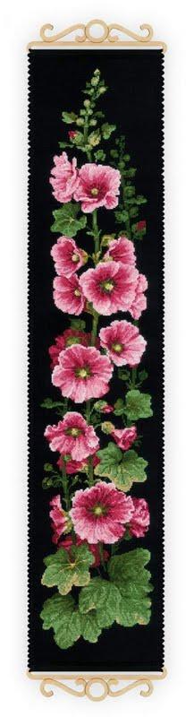 Цветы (схемы для вышивания)