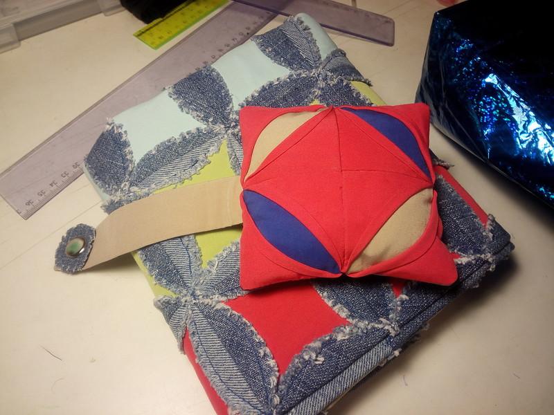 10.Оля leol123 изготовила подарки в интересной технике для Лены Кроха-Туля .