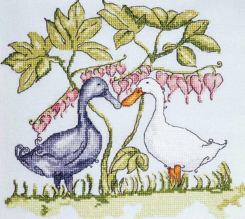 Схемы для вышивания  с детскими рисунками