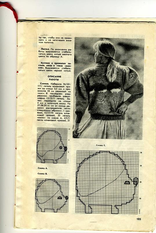 Модельки из очень старых журналов