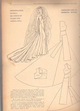 Крой шлейфа на платье