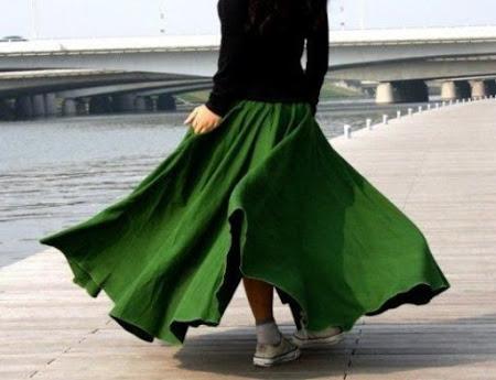 Нужен совет по выкройке многоярусной юбки!