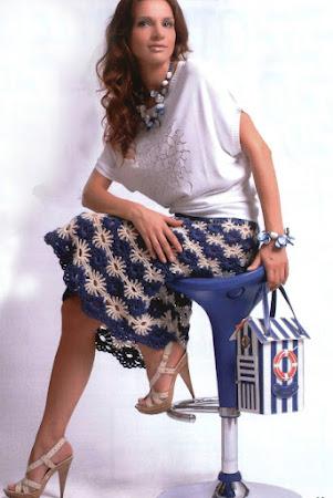 Вязаные юбки крючком (коллекция)