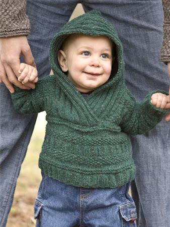 Архип - стильный свитер по мотивам Berroco