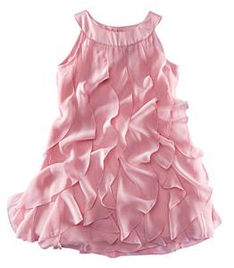 Платье шифон девочке сшить