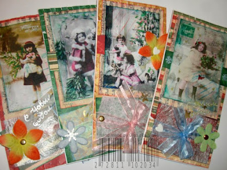 Оригинальные открытки - своими руками