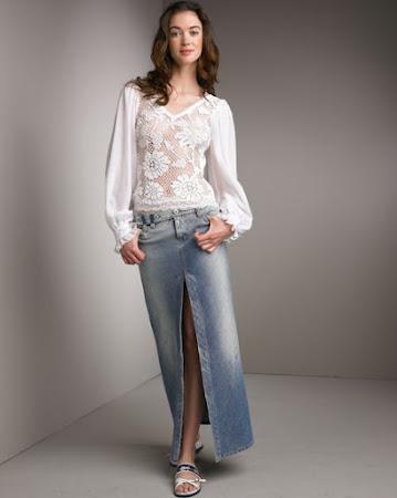 Фасоны блузок из гипюра