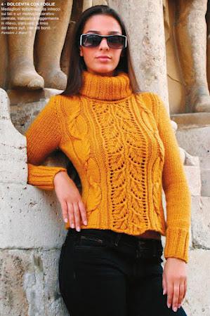 Свитер, джемпер, пуловер - спицами