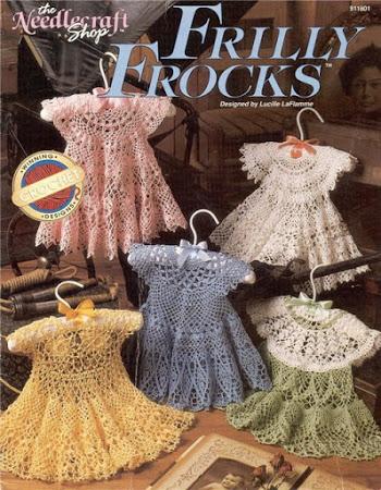 Ажурные платья с круглой кокеткой крючком