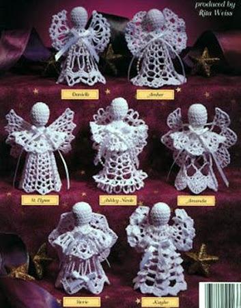 Вязаные ангелы