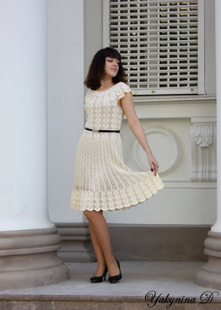 Платье делен