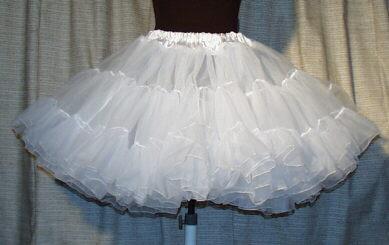 Сетка на нижнюю юбку