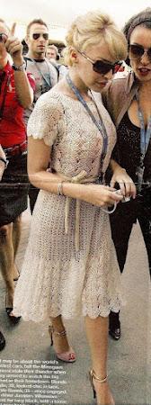 Вязаное платье кайли миноуг